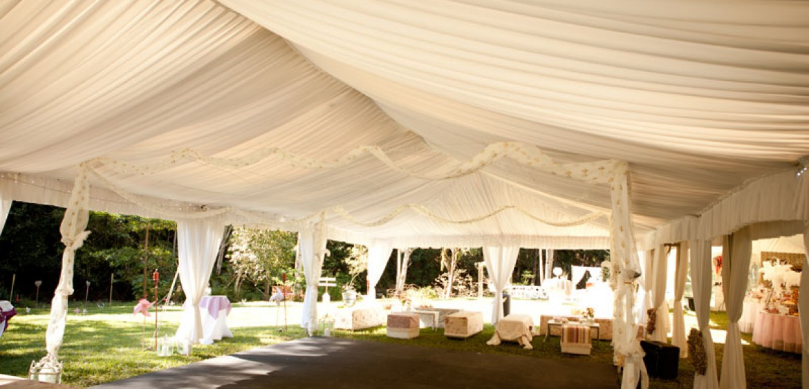 Marquee Hire Gold Coast Silk Lined Wedding Marquess